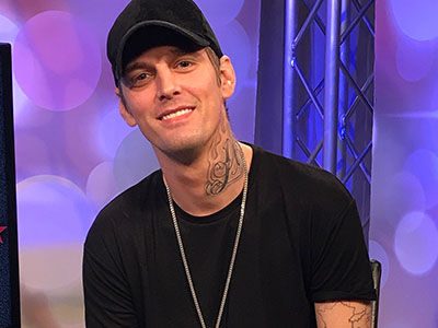 Aaron Carter Tells Us Why He REGRETS Ever Supporting Donald Trump