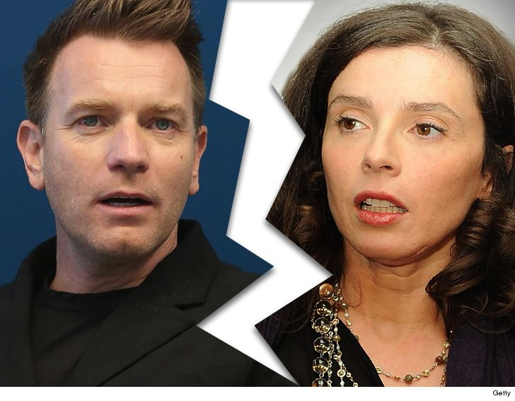 Ewan McGregor's wife Eve Mavrakis breaks her silence over 'upsetting' divorce