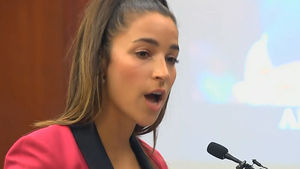 Aly Raisman Faces Larry Nassar at His Sentencing