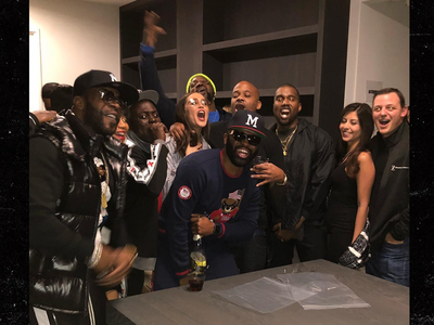 Kanye West Throws Private Screening for Damon Dash's Movie 'Honor Up'