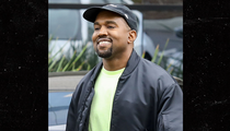 Kanye West Smiles Big After Naming Daughter Chicago