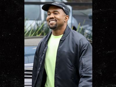 Kanye West Smiles Big After Naming Daughter Chicago