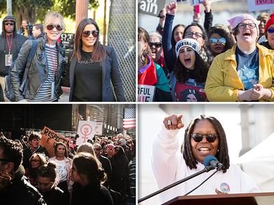 Women's March 2018 Draws Huge Crowds in Major U.S. Cities Again