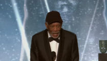 Morgan Freeman Calls Out Talker During SAG Awards