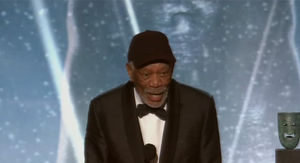 Morgan Freeman Calls Out Talker During SAG Awards Lifetime Achievement Speech