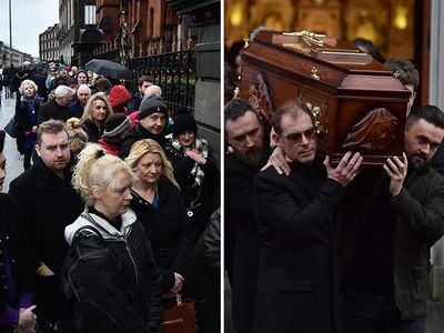 Cranberries' Dolores O'Riordan Mourned During Open Coffin Public Reposal