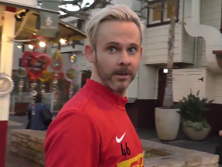 Dominic Monaghan Sues Contractor for Sloppy Landscaping Without a License