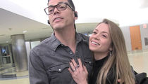 Steve-O And New Fiancee Lux Wright Share Ring & Dream Wedding Details