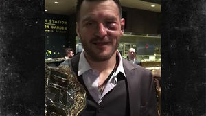 Stipe Miocic Rocking Massive Shiner After Nuking Francis Ngannou at UFC 220