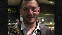 Stipe Miocic Rocking Massive Shiner After UFC 220 Fight