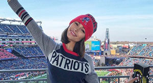 Watch Olivia Culpo Jump Into Danny Amendola's Arms After Patriots' Win