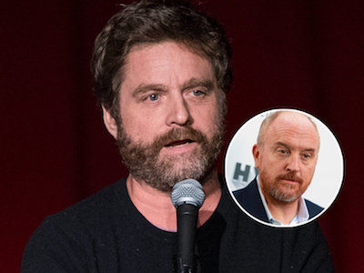 'It GROSSES Me Out': Zach Galifianakis Weighs in on Louis C.K.'s Sexual Misconduct