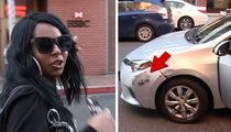 Ashanti's Ride Sideswipes Car, Mom Drives Off Before Exchanging Info