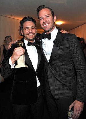 James Franco Winning at the Golden Globes