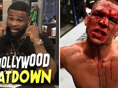 Tyron Woodley to Nate Diaz: You're a Bum, I'll Fight You Right Now!