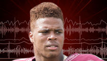 Deondre Francois 911 Call, 'She's Tearin' Up Everything'