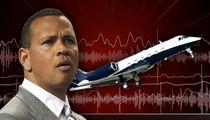 Alex Rodriguez's Private Jet Makes Emergency Landing