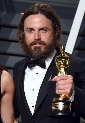 Casey Affleck -- Winning at the 2017 Oscars