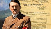 Adolf Hitler's 1926 Tax Return Up For Sale