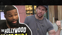 UFC's Tyron Woodley: 'Lots' of Big Celebs Are on Steroids, But Not Mark Wahlberg!