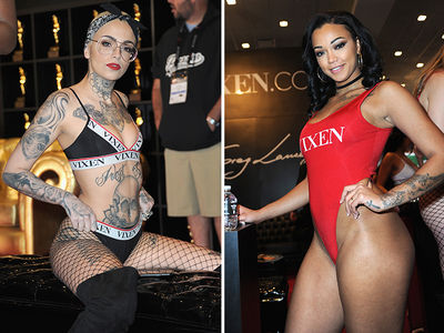 Porn Stars on Display at the 2018 AVN Adult Entertainment Expo in Vegas