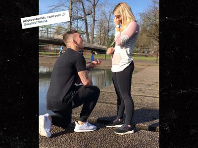 UFC's Paige VanZant Engaged to MMA Fighter Austin Vanderford