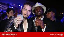 Post Malone Slams 'Culture Vulture' Critics at LIV's Pegasus World Cup Party