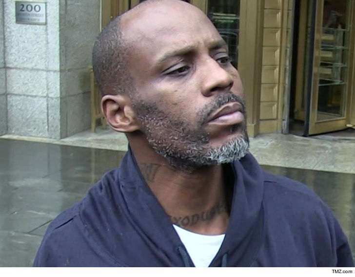 DMX Going Back To Jail For Allegedly Failing Drug Tests