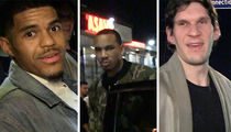 New Clippers Players Already Livin' it Up in L.A., Guys Night Out!