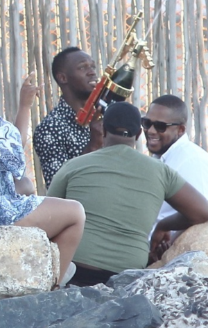 Usain Bolt in Cape Town -- The Party Pics
