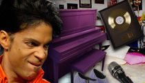 Prince Memorabilia Auction Features Purple Piano, Boots, Pants and Purple Rain Tour Microphone