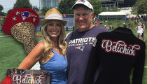 Bill Belichick's GF Rockin' 4,700 Crystals In Super Bowl Outfit!