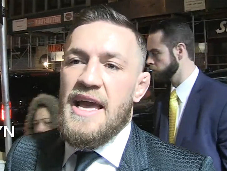 Conor McGregor to Floyd: Fight Me In UFC Or You