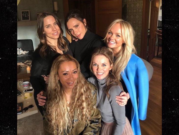 The Spice Girls Reunion Meeting Had to Be Moved Due to Paparazzi