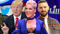 P!nk's Boobs & Trump's Tweets Star in This Year's Super Bowl Prop Bets