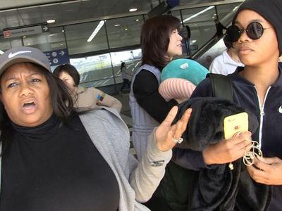 Gabby Douglas & Mom Condemn Nassar Attacker, 'Never Evil with Evil'