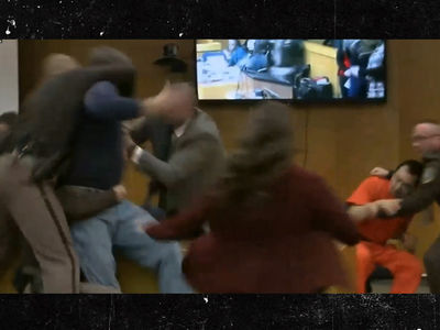 Larry Nassar Attacked By Victim's Dad, 'Gimme 1 Minute with that Bastard' (UPDATE)