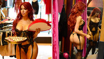 Farrah Abraham Poses in Lingerie for Valentine's Day
