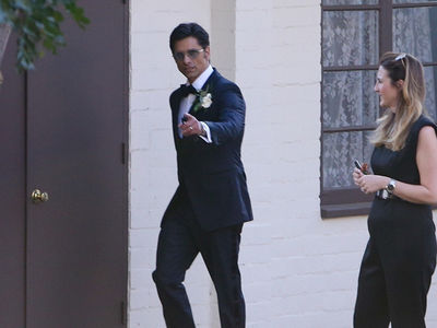 John Stamos and Caitlin McHugh Get Married Hours After Jewelry Robbery
