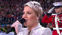 P!nk Nails Super Bowl LII National Anthem Despite Battling Flu