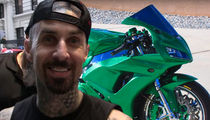 Travis Barker's Custom Motorcycle Going for $17k