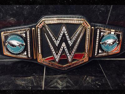 WWE Sends Philadelphia Eagles Championship Belt!!!