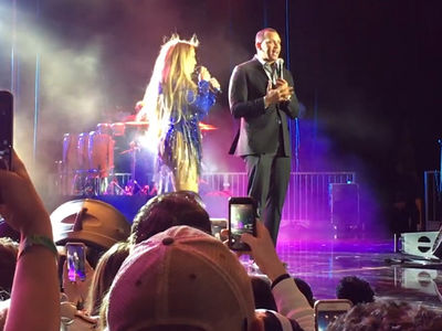 A-Rod Heavily Booed By Patriots Fans at J Lo's Post-Super Bowl Concert