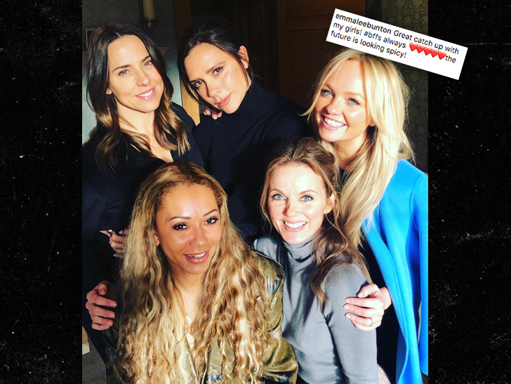 Victoria Beckham confirms the Spice Girls won't be touring