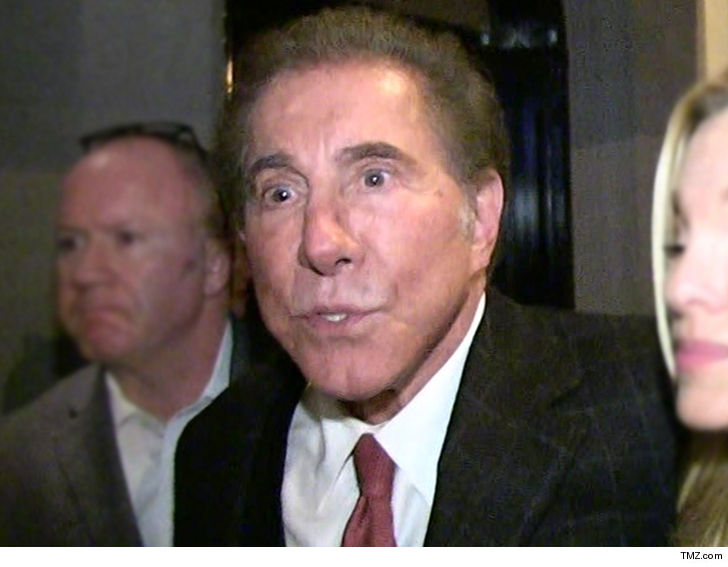 Steve Wynn steps down as CEO of casino company