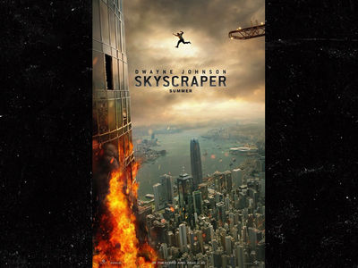 Dwayne Johnson Falls Like Rock in 'Skyscraper' Fail