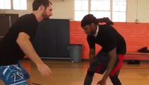 2 Chainz Training for NBA All-Star Showdown with Top Skills Guru
