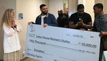 Drake's $50k Gift to Homeless Shelter Paying for New Construction