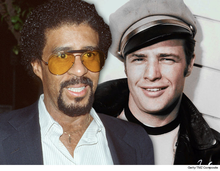 Richard Pryor, Marlon Brando's affair confirmed