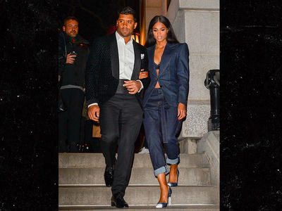 Russell Wilson & Ciara Slayyyyyyy at Tom Ford Show